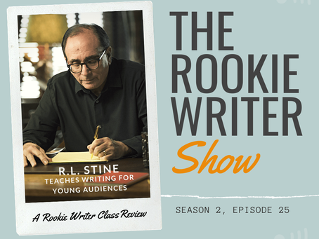 S2/E25: R.L. Stine Teaches [Horror] Writing for Young Audiences