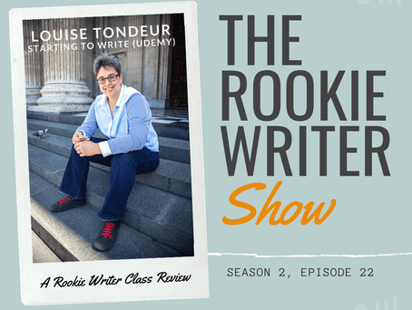 S2/E22: Starting to Write with Louise Tondeur