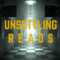 Unsettling Reads Podcast Image - Apple S