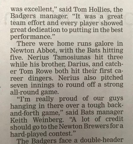 Brewers in the Press - Bristol Post 3 May 2018