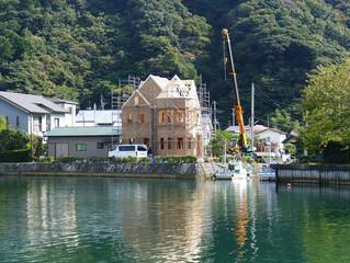 西伊豆・松崎町でのフレーミングPart2 水辺の風景