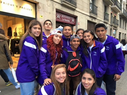 The Eastlake HS soccer team in El Paso, Texas made a dream a reality