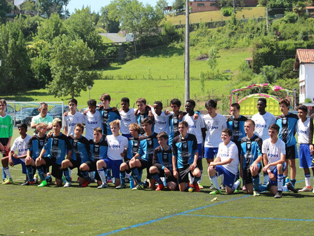 Laurel Lions played soccer in Spain!