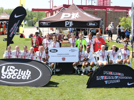 Congratulations Fever and Pats! Winners of the US Club Soccer National Cup XVII Finals!