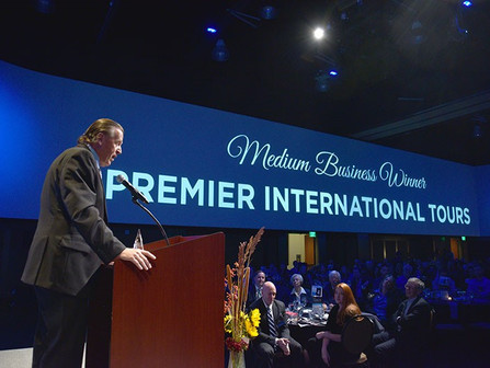 Premier International Tours won the Better Business Bureau Torch Award!