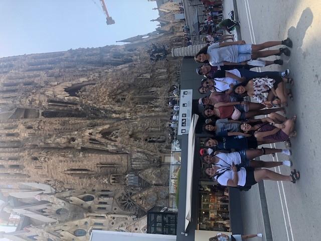 Oak Cliff Divas trip to France and Spain