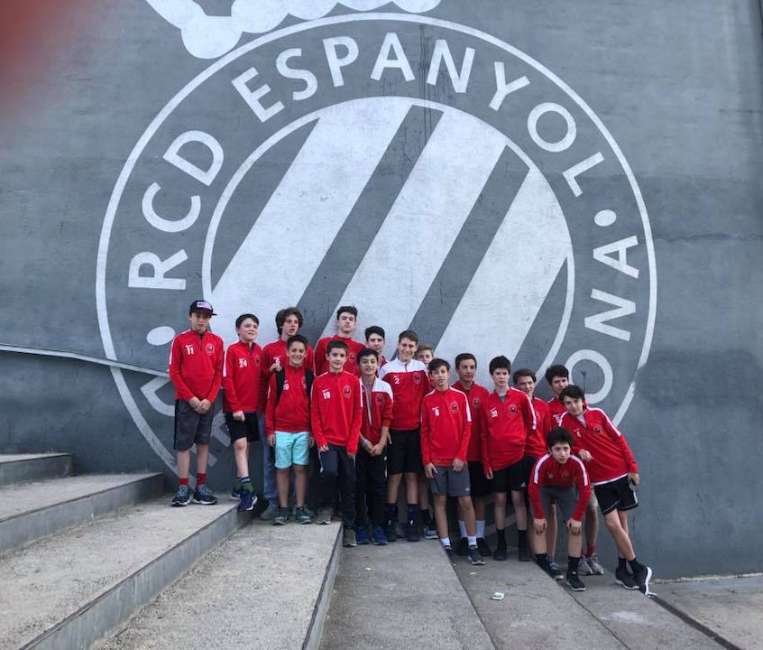 After an exciting week in Barcelona Capital Soccer Club has returned home!  (1)