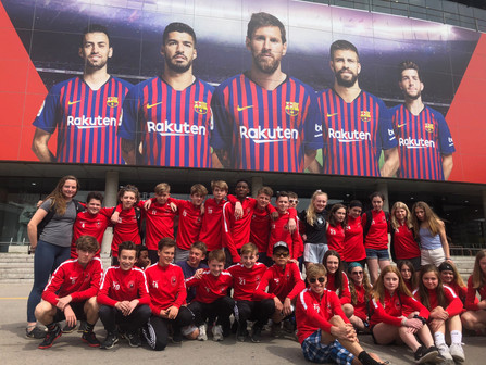 Capital Soccer Club is back from Barcelona!