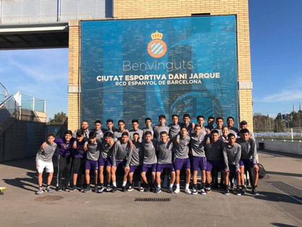 Eastlake Falcons just return from a tour to Barcelona!