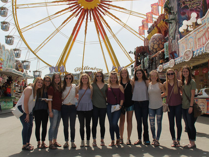 Wartburg College Women's soccer team traveled to Germany