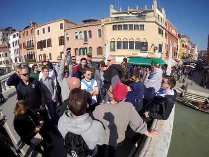 Illinois Wesleyan University traveled to Italy