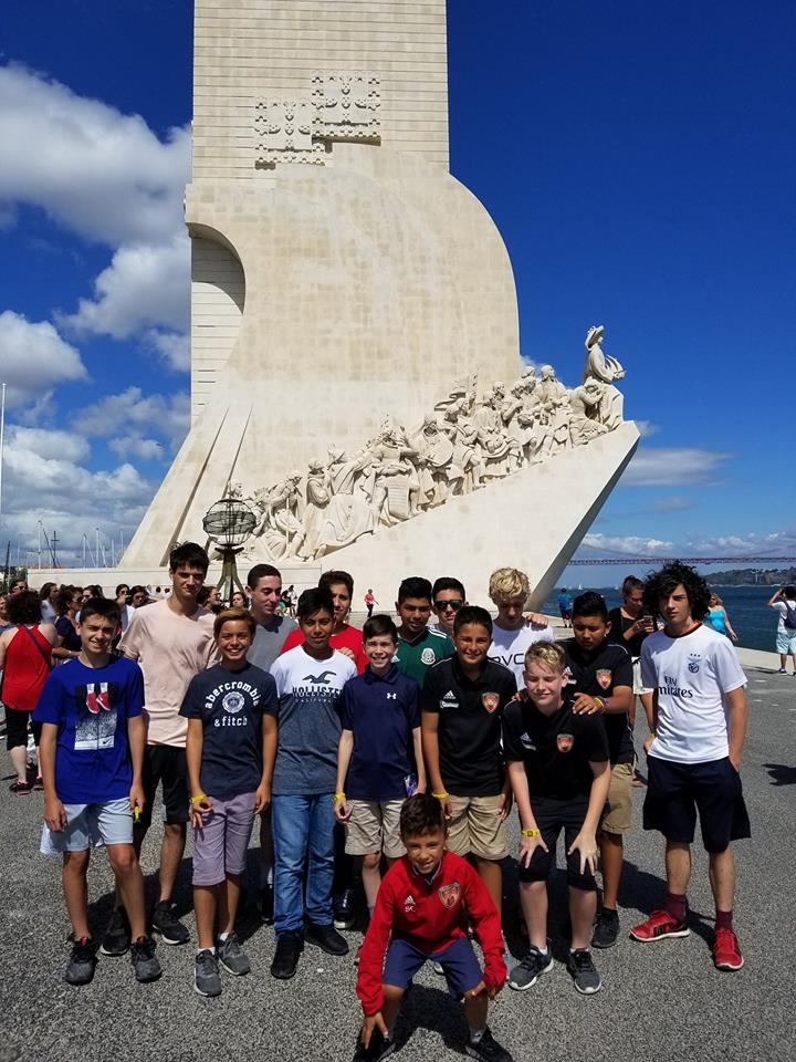 Revolution United FC just returned from their trip to Portugal  (5)