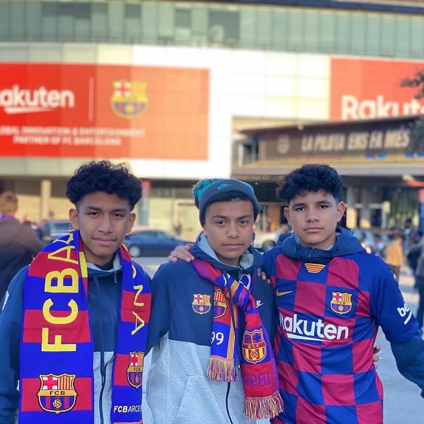 At Camp Nou