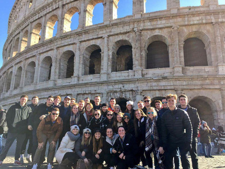 DePauw University Soccer Tour to Italy