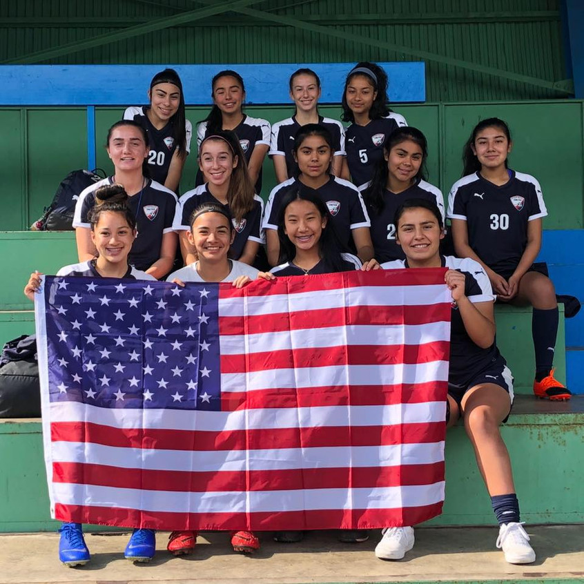 PV United competed in the inaugural Pari