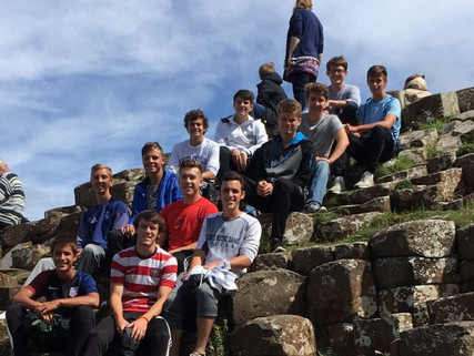 Raiders High School boys team has returned home after their 2017 international tour to Dublin and Lo