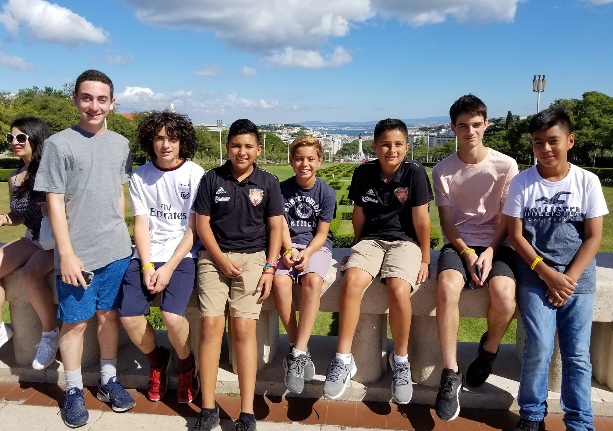 Revolution United FC just returned from their trip to Portugal  (2)