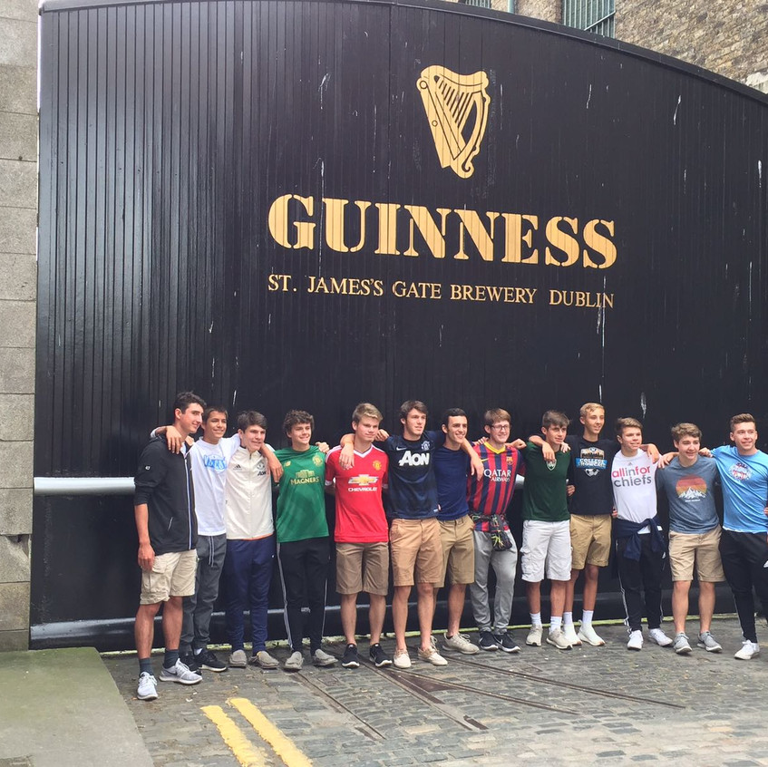 Raiders High School boys team has returned home after their 2017 international tour to Dublin and London (4)