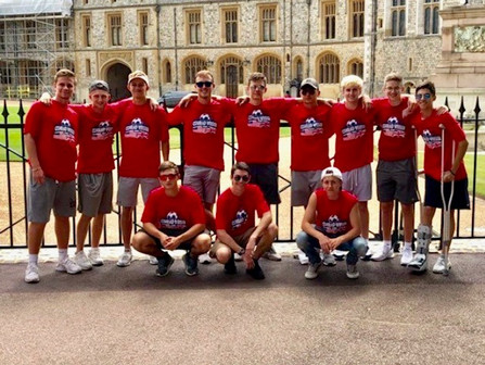 Conrad Weiser High School traveled from PA to Europe with Premier International Tours to enjoy an 8-