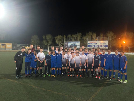 Capital Soccer Club has returned home from Barcelona!