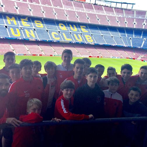 Capital SC international soccer trip to Barcelona (1)