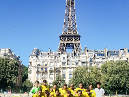 PSG Academy Florida traveled from Miami to Paris, France with Premier International Tours