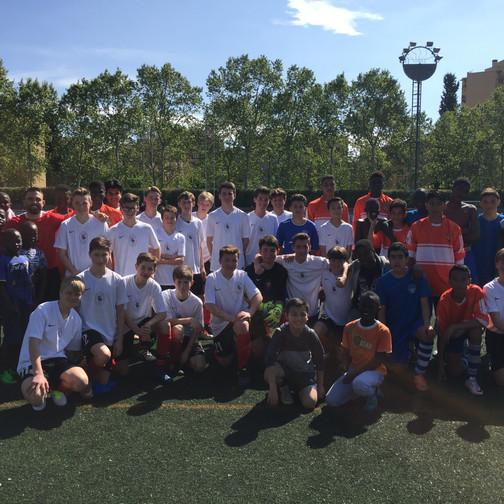 Capital SC international soccer trip to Barcelona (2)