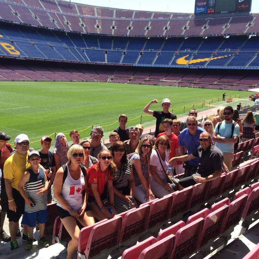Belleville Comets competed in the Mediterraneao Summer Cup in Barcelona!  (2)