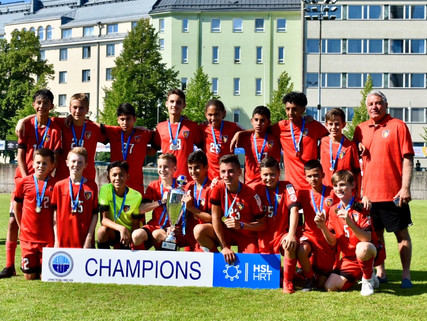 International success for the Dallas Texans