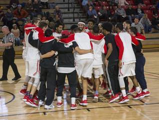 The Albright men's basketball team in France!