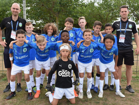 The Park Slope United Soccer Club traveled with their U10 Boys team, and families from Brooklyn, New