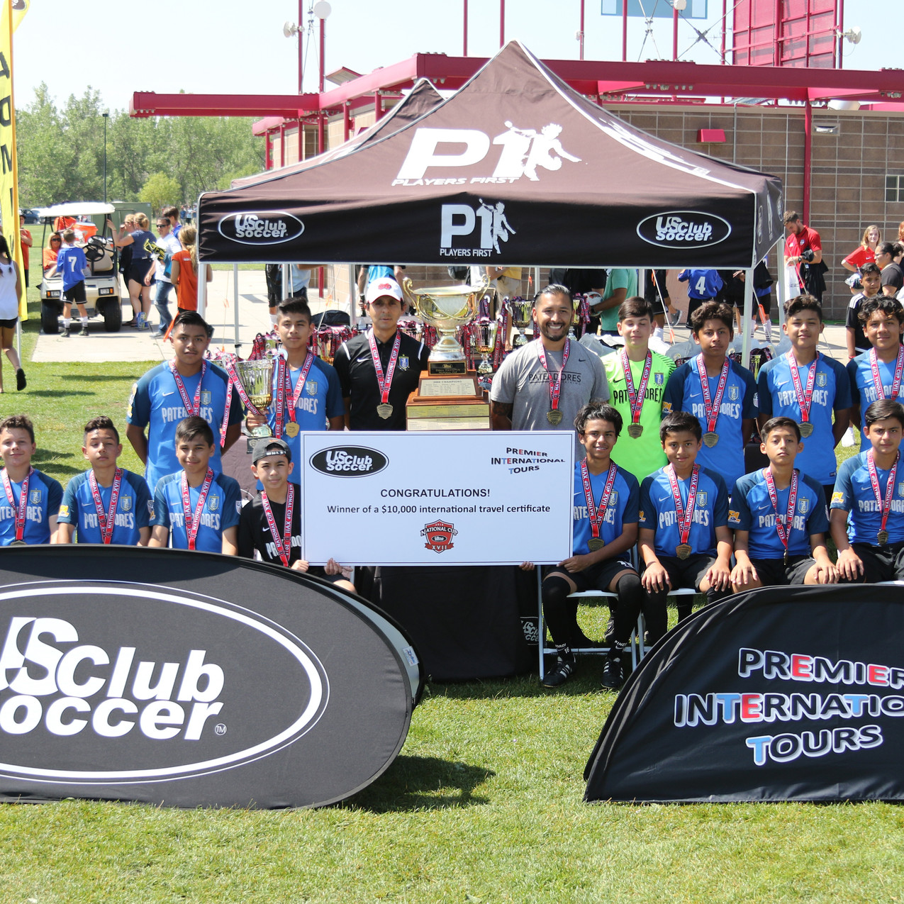 winner of the US Club Soccer National Cu