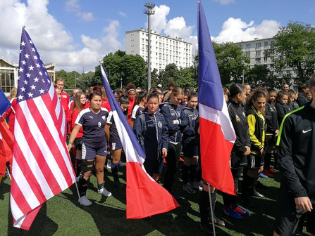 PV United competed in the inaugural Paris Ladies Cup!