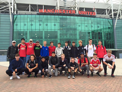 The Putnam City North High School boys soccer team embarked on a soccer trip to England!