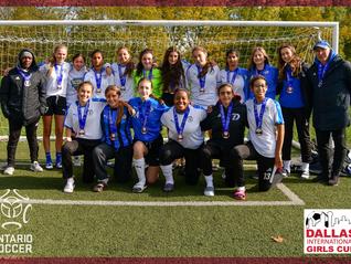 2020 Dallas International Girls Cup Featured Team