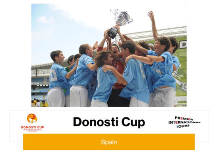 The Donosti Cup has been around for over 25 years with more than 650 teams participating each year