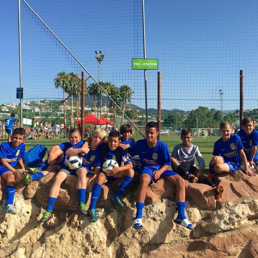 GOSA has safely returned from participating in the 2016 IberCup Costa del Sol, in Marbella, Spain!  (1)