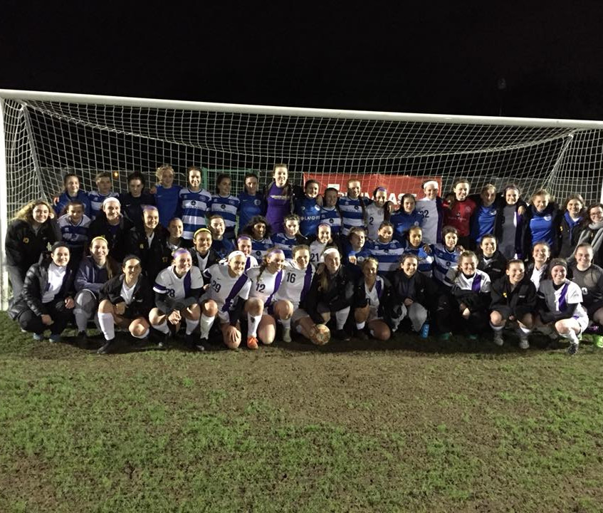 Nazareth College soccer team in Europe (4)