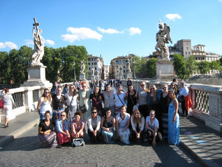 Women's Basketball team from Lakeland University taveled to Italy
