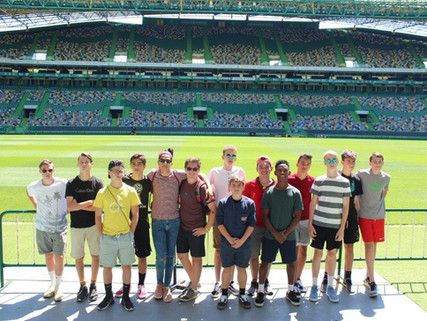 Lamoille County High School Boys Soccer team travelled to Portugal to compete in the IberCup Estori