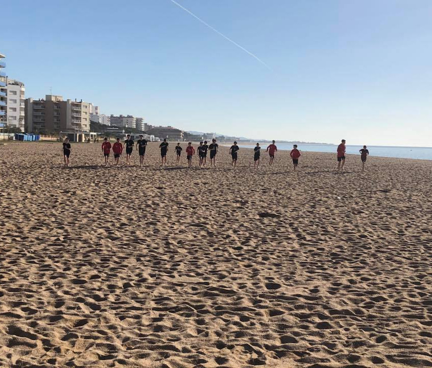 After an exciting week in Barcelona Capital Soccer Club has returned home!  (6)