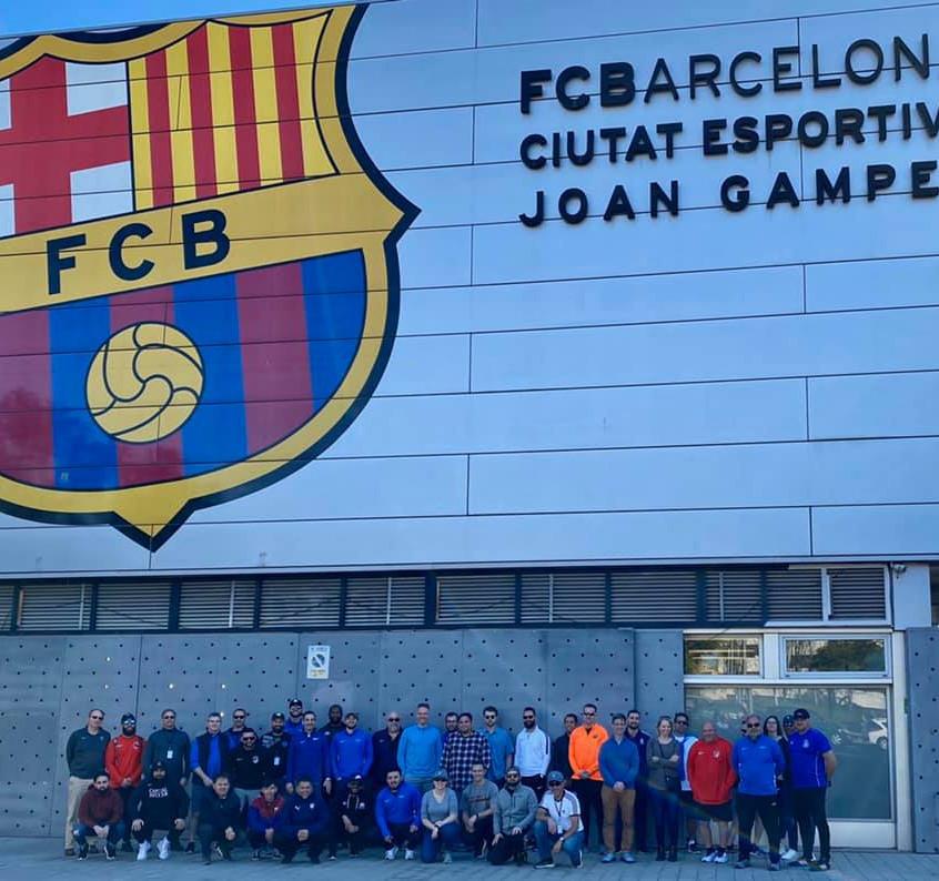 Group at Johan Gamper