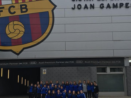 Boston Breakers and NEFC traveled to Barcelona, Spain with 3 of their teams