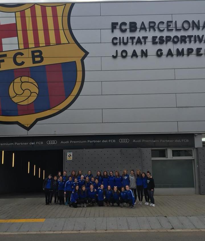 Boston Breakers and NEFC traveled to Barcelona Spain (5)