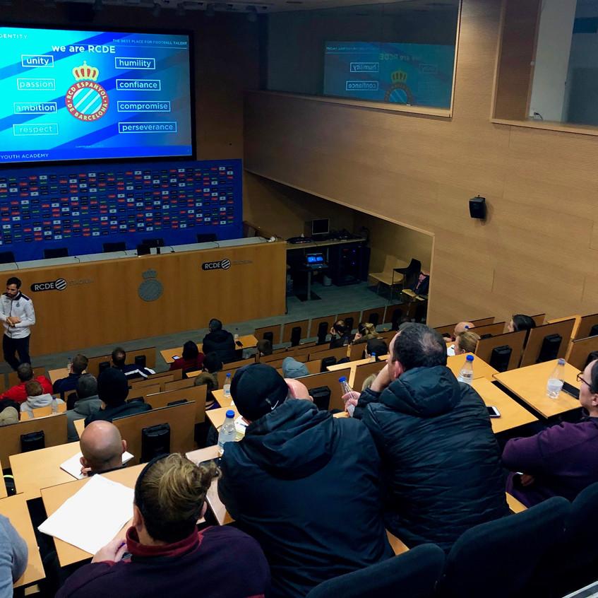 RCD Espanyol coaches session