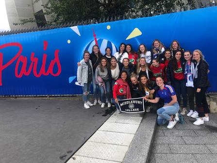 Middlebury College Traveled to the Women's World Cup and Back!