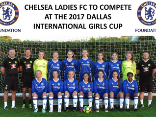 Chelsea Ladies FC in Dallas for 2017