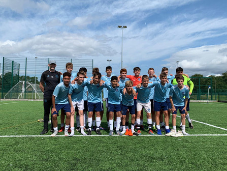 The Hudson Valley Select 05 boys just returned from a trip to England