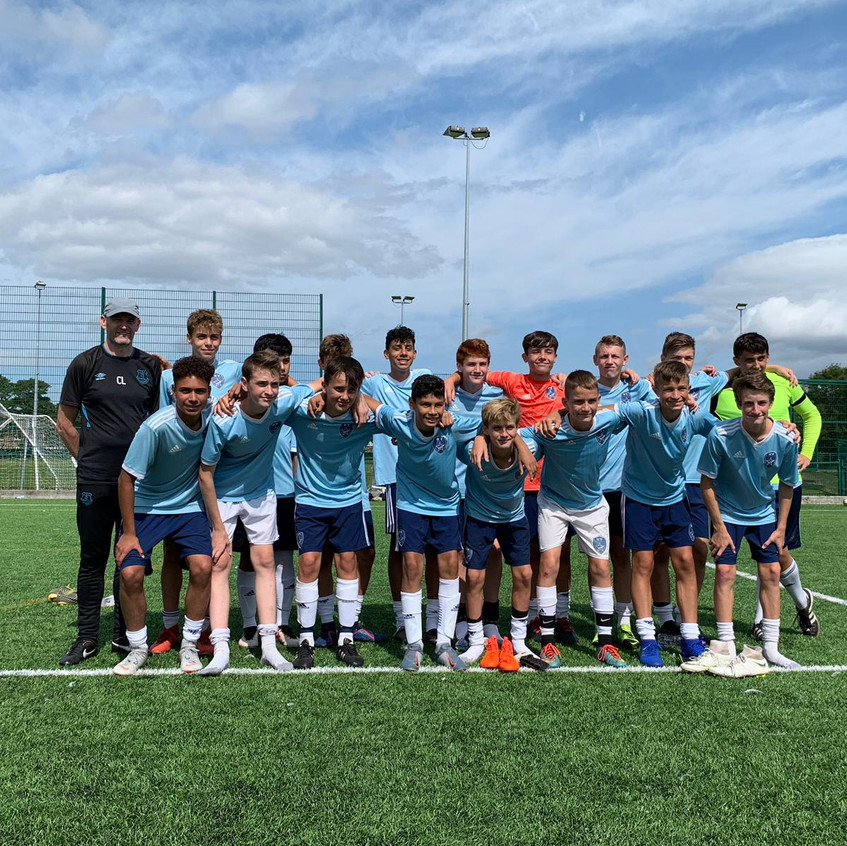 The Hudson Valley Select 05 boys just re