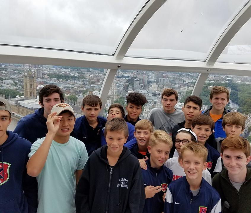 Houston Express Soccer in Europe